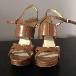 MK Brown Heels